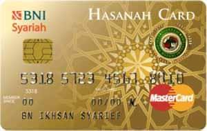 BNI Syariah Hasanah Card Gold