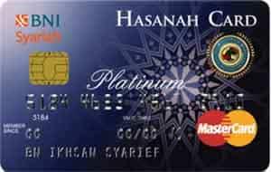 BNI Syariah Hasanah Card Platinum