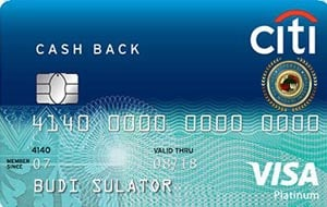 Citi Cash Back Platinum22