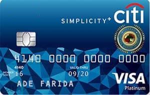 Kartu Kredit Citi Simplicity