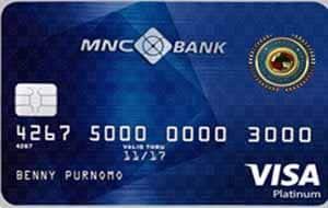 MNC Bank Platinum Credit Card