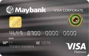 Maybank Kartu Kredit Visa Corporate