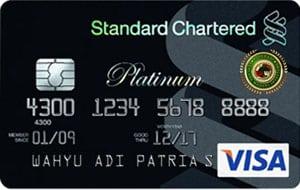 Standard Chartered MasterCard Platinum300