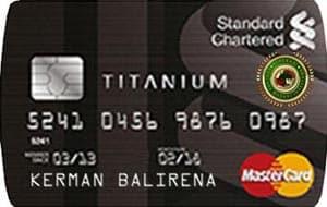 Standard Chartered MasterCard Titanium300